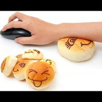 INFMETRY:: Bread Expression Wrist Pad - Mouse Pads - Electronics