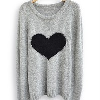Fanewant — Cute  Heart Sweater
