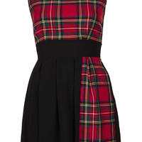 **Tartan Chiffon Dress by Wal - New In This Week  - New In