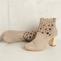 Circlet Suede Booties