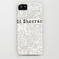 ed sheeran. iPhone & iPod Case by Calm Oceans™