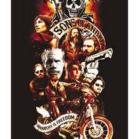 Sons of Anarchy 'Freedom' Poster