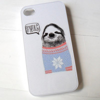 Sloth Swag Sweater Case by CasesbyOliviaRose on Etsy