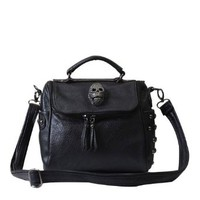 Punk Style Skull Rivet Shoulder Bag
