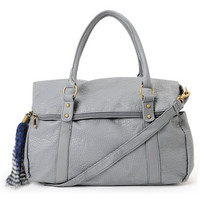 Volcom Girls Furballz Satchel Grey Purse at Zumiez : PDP