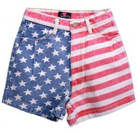 Star and Stripe Shorts - DAILY CLOSET Online store> Shop the collection