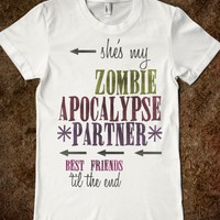 Zombie Apocalypse BFF (Right Side)