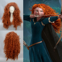 Disney Princess Brave Merida cosplay wig