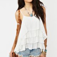 Ashland Racerback Tank - Ivory in  Clothes Tops Tanks at Nasty Gal