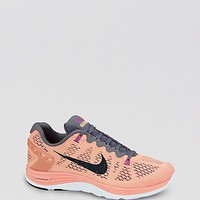 Nike Lace Up Sneakers - Women's Nike Lunarglide+ 5 | Bloomingdale's