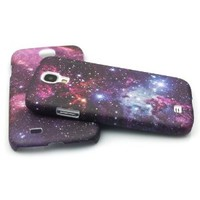 Comkes Space Galaxy Snap On Hard Case for Samsung Galaxy S4 IV i9500 (Dark)