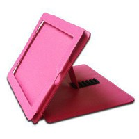 Leather Case With Kickstand for Apple iPad (Pink) [1849] - US$9.99 - China Electronics Wholesale - FlyDolphin.com