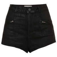 MOTO Zip Shorts - Topshop USA