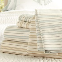 Henri Ticking Stripe Organic Sheet Set