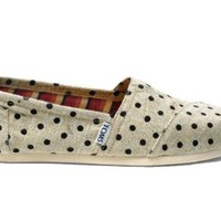 Toms Womens Classics Natural Hemp 10000418