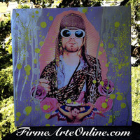 Saint Kurt Cobain Canvas