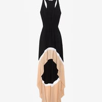 Jay Godfrey Colorblock Hi/Lo Dress-Dresses-Clothing-Categories- IntermixOnline.com