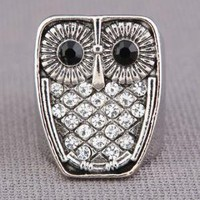 ZAD Hoot Hoot Ring in Silver - $15.00 : Fashion Rings at LuLus.com