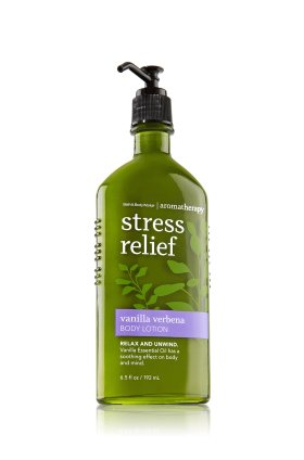 Stress Relief - Vanilla Verbena Body Lotion   - Aromatherapy - Bath & Body Works