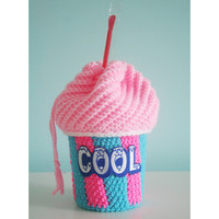 Custom Slushee Cup Drawstring Bag - Any Flavor- Made to Order