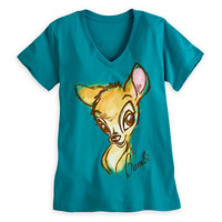 Disney Bambi Tee for Women | Disney Store
