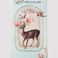Retro Deer Print Mobile Phone Case