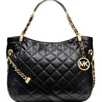 MICHAEL Michael Kors  Medium Susannah Quilted Shoulder Bag