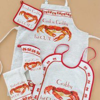 Cook Is Crabby Kitchen Apron
