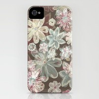 Flower burn iPhone Case by Polkip | Society6