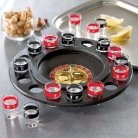 Amazon.com: Roulette Shot Glass Bar Drinking Game Set: Kitchen & Dining