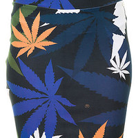 Civil Skirt Weed All Over High Waisted