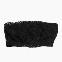 Essential Lace Bandeau in Black