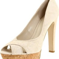 Nine West Women's Colourcode Peep-Toe Pump