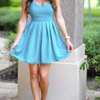 Your Favorite Little Dress: Teal | Hope's