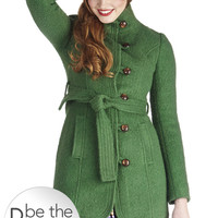 Tulle Clothing All Clover Again Coat | Mod Retro Vintage Coats | ModCloth.com