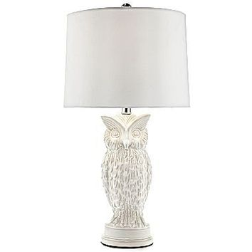jcp | Ceramic Owl Table Lamp