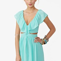 Lost Without You Dress - Mint in What's New at Nasty Gal