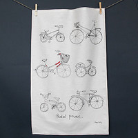 Tea Towel Bicycle