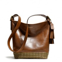 Coach :: New Legacy Archival Duffle In Studded Leather