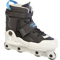 K2 Sports Fatty Pro Aggressive 2012 Inline Skates(Black/Grey/Blue)