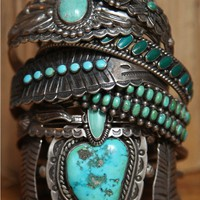 Free People Vintage Turquoise Cuff