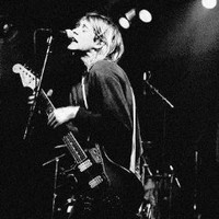 "O-6955 Nirvana/kurt Cobain ""Singing""- Poster- Rare New - Image Print Photo"