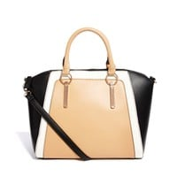 New Look   New Look Wendy Panelled Wing Shoulder Bag at ASOS