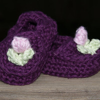 03months Shoes in Purple by staceyLynnCreates on Etsy