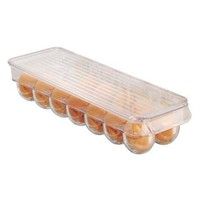 InterDesign Fridge Binz Egg Holder, Clear