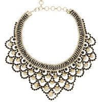 Spike Bib Necklace