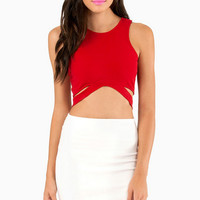 Undercut Crop Top $22