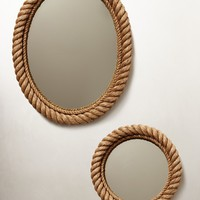 Shoreline Mirror    by Anthropologie Neutral