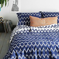 Magical Thinking Chevron Duvet Cover