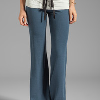 Tylie Wide Leg Space Dye Pant in Indigo from REVOLVEclothing.com